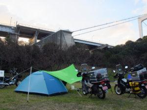 カブ110NWJC キャンプ
